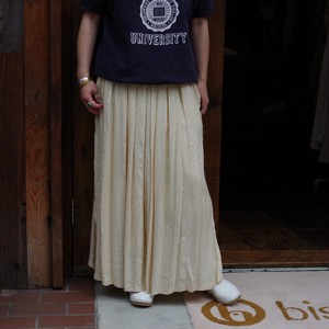 Soft Pleats Skirt / ソフト プリーツ スカート
