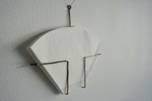 ワイヤーホルダー 真鍮