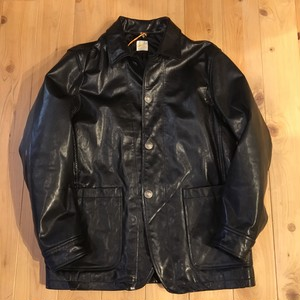 "Barns Outfitters "" GOAT LEATHER COVERALL JACKET"""