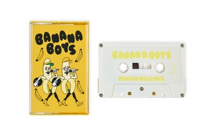"""Banana Boys / Banana Mega Mix"" カセットテープ DLコード付"
