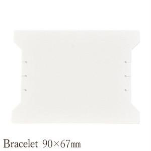 アクセサリー台紙 ブレスレット用 90×67mm 30枚