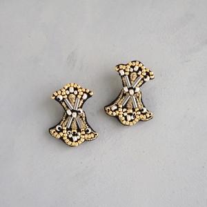pierced earrings C-XP02/earrings C-XE02<black>