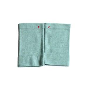 佩 リストマフラー(C/#16 ミントグリーン) ウール100%で手首暖か