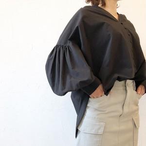 volume sleeve  shirt