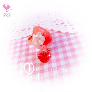 【Patisserie moe】【ゆめいろイチゴにホイップを添えて。リング / love】i082045