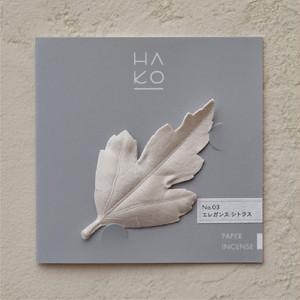 HA KO  No.3 エレガンスシトラス