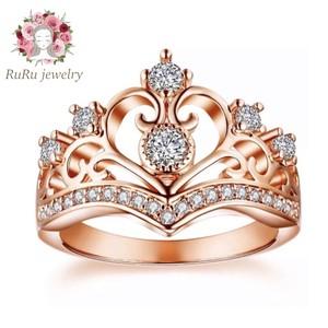Tiara cz diamond(ring)