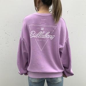 【BILLABONG】BILLABONGロゴスウェットトレーナー