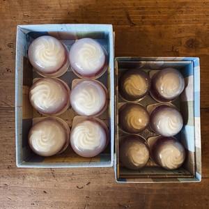 レアチーズの水まんじゅう 12個入(化粧箱)