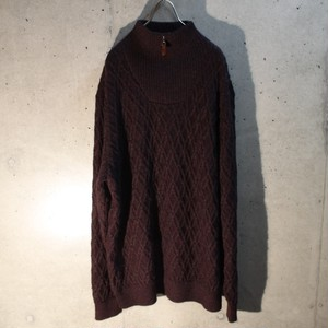 Half Zip Alpaca Sweater