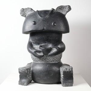 田中毅 / 石彫3 ちゃわん虫