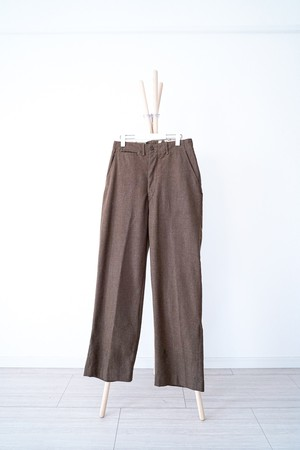 "【1930-40s】""M-1937"" US Army Wool Trousers / v390"