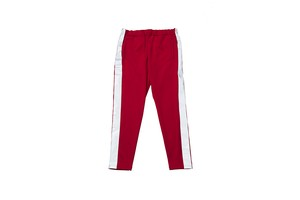 "EZ DO by EACHTIME. ""NIGHT CRUISING JERSEY PANTS"" RED"