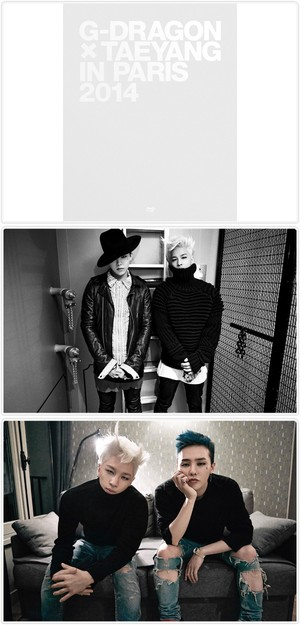 G-DRAGON X TAEYANG IN PARIS 2014 ()