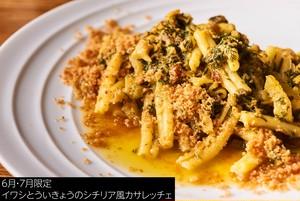 【Pasta 1人前】イワシとういきょうのシチリア風カサレッチェ