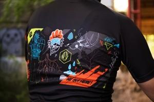 【サイクルジャージ】we out here! jersey(ウィーアウトヒア!ジャージ)《ローンウルフサイクリング》海外直輸入