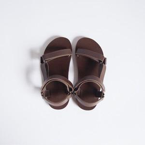 サンダル Sandals (dark brown)