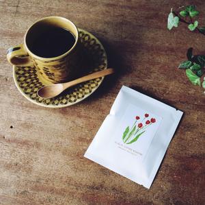 自家焙煎珈琲豆ドリップパック3個セット《花》