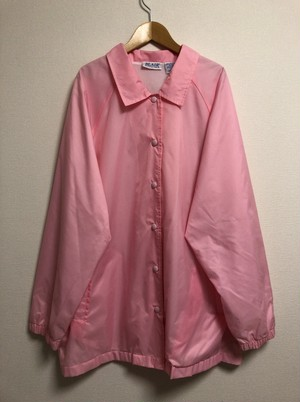 2000's baby pink coach jacket