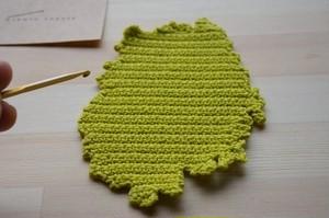 編み図 岩手コースター DIY Knitting Pattern Iwate Coaster