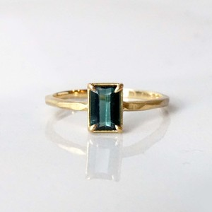 Green Tourmaline Ring(R342-GTR)