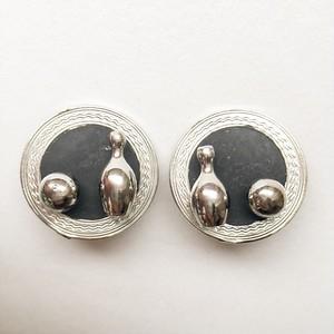 bowling earring[e-664]
