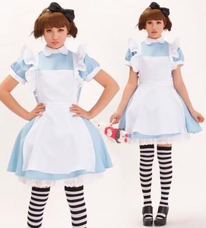 コスプレ メイド服 アリス風 メイド衣装 コスチューム 3610-3611