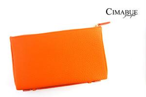 チマブエ グレースフル|CIMABUE graceful |シュランケンカーフ ミニクラッチバッグ|オレンジ