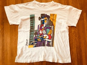 picaso ピカソ Tシャツ アート アーティスト 画家 芸術