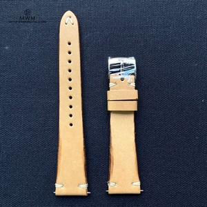 """ANZIANO"" BORN TO BE AGED Collection イタリアンバケットレザー タン 20mm 腕時計ベルト"