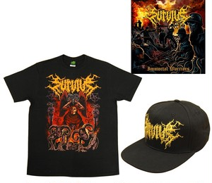 Survive T Shirts.Hat.Album Combo