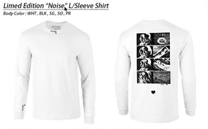 """[Pre-Order Until 11/20:SDC会場受け渡し限定 ]Limited Edition """"NOISE"""" (Long Sleeve T-Shirt)"""