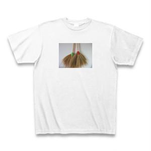 タイ製ホウキのTシャツ ホワイト【送料込み】