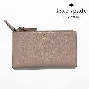 ケイトスペード/kate spade new york/malea/long Wallet/ロングウォレット/長財布/porcini(274)【wlru4492-porcini】