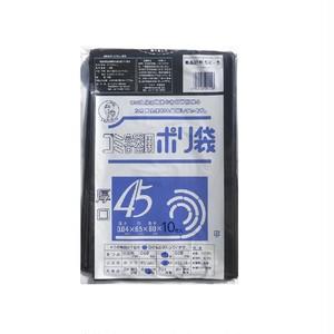 SK-5 黒ポリ袋  厚手0.04mm 45L 500枚 業務用 ケース売り