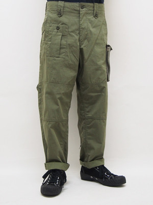 EGO TRIPPING (エゴトリッピング) UK MILITARY TROUSERS / OLIVE 623350-64
