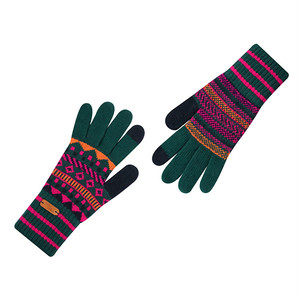 Touch screen gloves - Disco Dancing (GREEN)