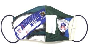 【デザイナーズマスク 吸水速乾COOLMAX使用 日本製】NFL SPORTS MIX MASK CTMR 1205011