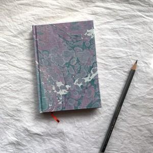 すずめや×mai marble.  マーブリング染布地のノート 05