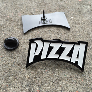 "dontreallycare""PIZZA LAPEL PIN"""