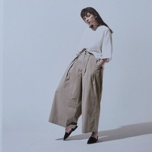 HARVESTY / high rise culottes