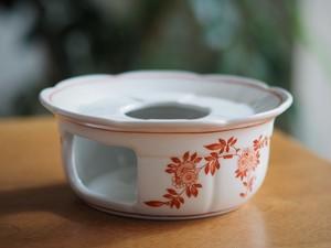 『コーラルのティーポットウォーマー/Oriental flower』【ペニンシュラ食器/コーラルクレスト】