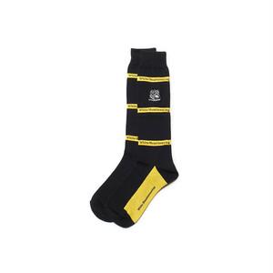 EMBLEM FOOTBALL SOCKS-YELLOW