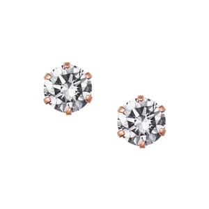 K10PGダイヤモンドピアス 050201010422