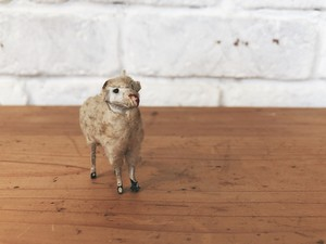 ~1920's FRANCE antique petit sheep