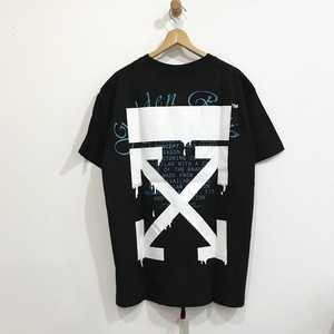 Off-White DRIPPING ARROWS S/S OVER TEE オフホワイト