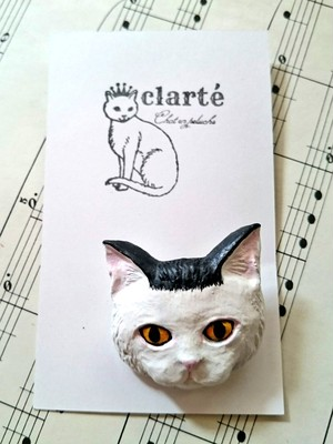 clarte / cat brooch