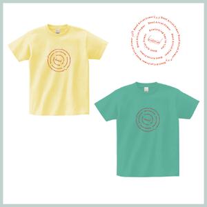 NapオリジナルTシャツ [メガネver] ライトイエロー・ミントグリーン(予約注文の商品)