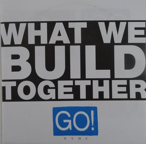 "GO! - What we build together 7""EP"