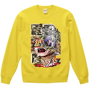 """dib""【The Core of Mental】GRAPHIC SWEAT SHIRT"
